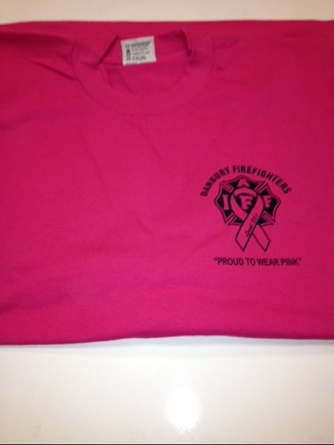 IAFF Local 801 - Cancer Awareness (Pink) T-Shirts